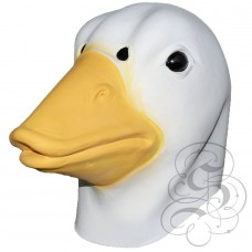 Latex Duck Mask (White)